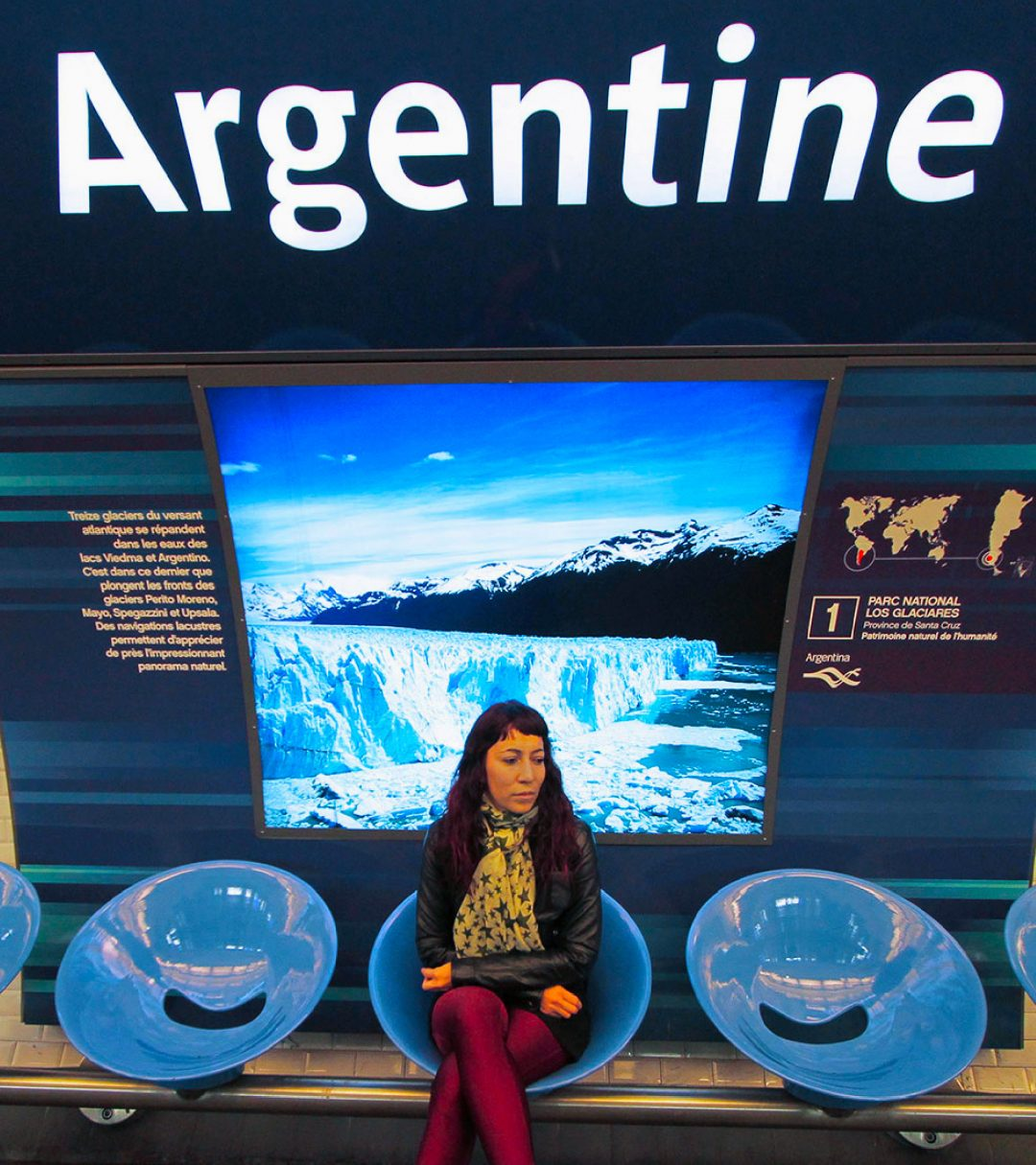 Estación Argentine Metro de París