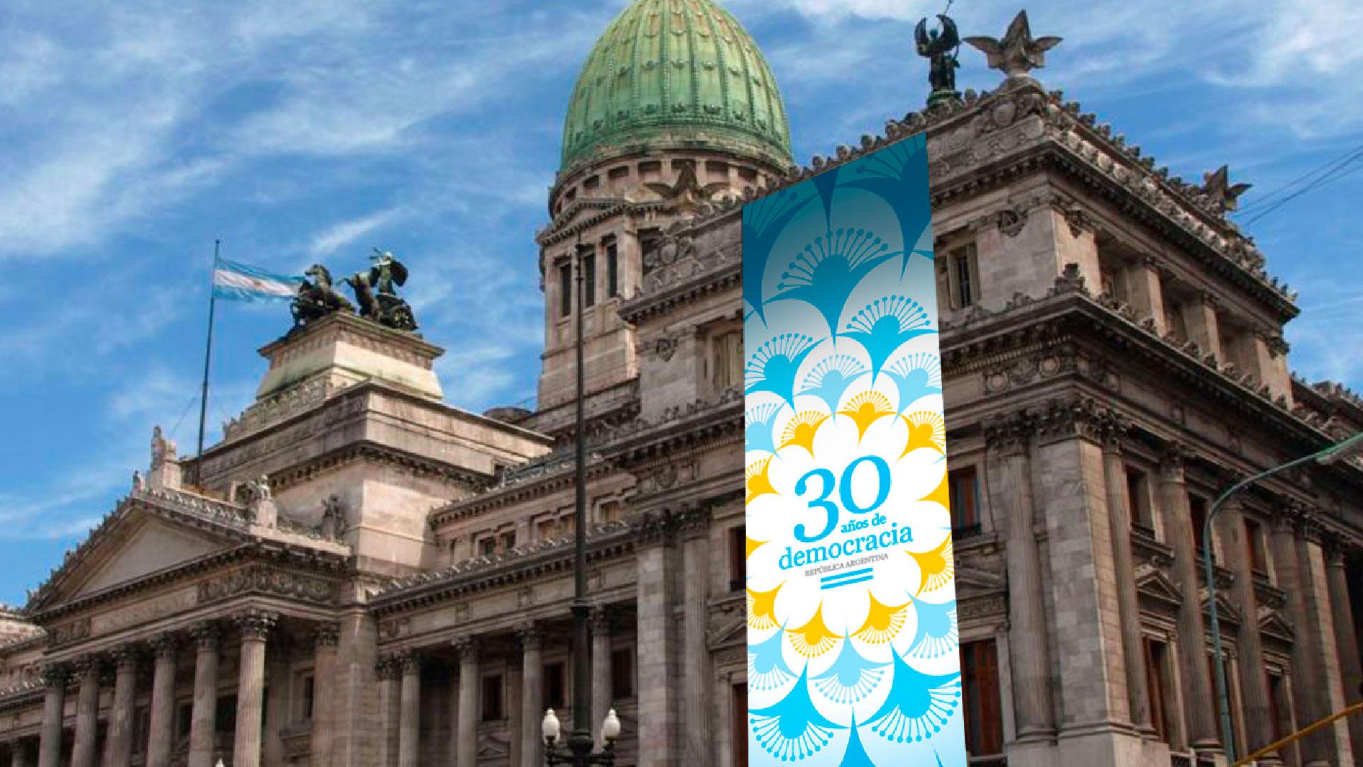 30 años de democracia argentina